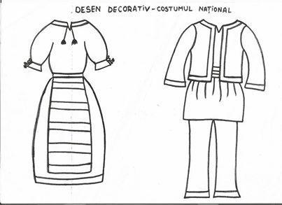 calitate en-gros online nuante de Imagini pentru costume populare de desenat | Romani, Grădiniță ...