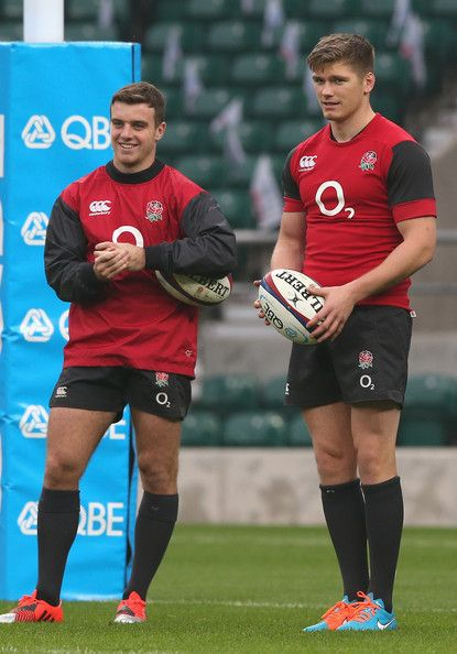 🏉 Owen Farrell and George Ford My faves! Both handsome 🏉