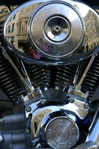 Pin By Julitaflores On Rock N Roll Artwork Harley Davidson Wallpaper Bike Art Biker Art