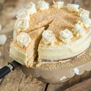 Raffaello Torte Selber Machen Weil Eine Kugel Nicht Reicht Rezept Raffaello Torte Kuchen Und Torten Und Leckereien