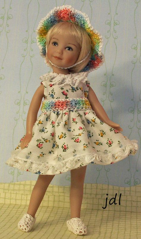 """Heartstring Grace 8"""" Dinna Effner Doll by JDL Doll Clothes"""