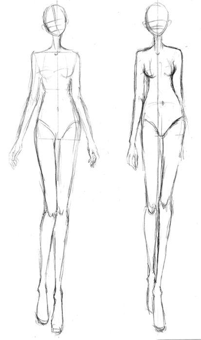 plantillas figurines de moda - Buscar con Google ilustraciones - blank fashion design templates