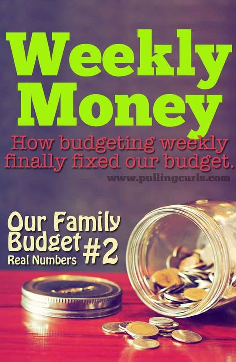 budgeting weekly money finance frugal life pinterest
