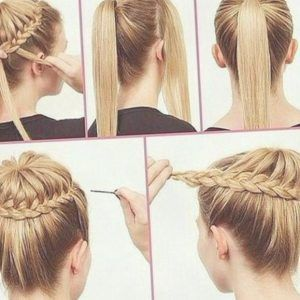 Zopf Frisuren 2018 Einfache Frisuren Frisuren 2018 Pinterest Frauen Haare Geflochtene Frisuren Flechtfrisur Lange Haare Hochsteckfrisur