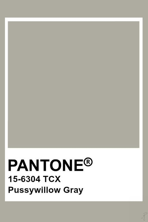 Pantone Pussywillow Gray  Colors In 2019  Pantone Colour ...