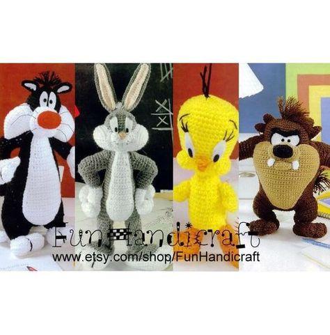 Ravelry: Bugs Bunny Amigurumi Pattern pattern by Edward Yong | 481x474