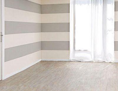 Walls Gray Stripe Graystripedwalls Walls Gray Stripe