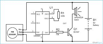 Panic alarm circuit diagram | Electronic Circuits | Pinterest ...