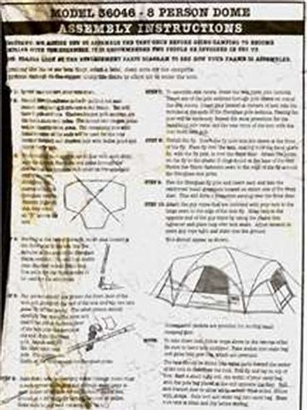 Image result for Greatland 3 Room Tent Manual | Good to know