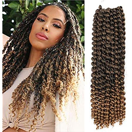 Amazon Com Elighty Passion Twist Hair 18 Inches Water Wave