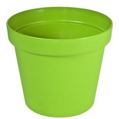 Doniczka Plastikowa 26 Cm Zielona Patio Patrol Doniczki