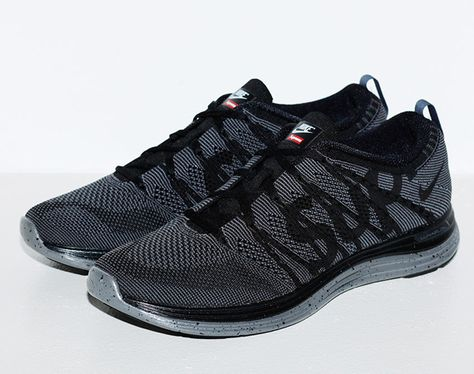 new style eafad 3b54d I m not a Supreme head, but these Supreme x Nike Flyknit Lunar1 are clean.