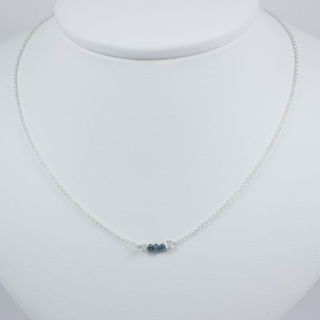 collier petit diamant