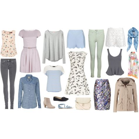 Paris in Spring Travel Capsule Wardrobe