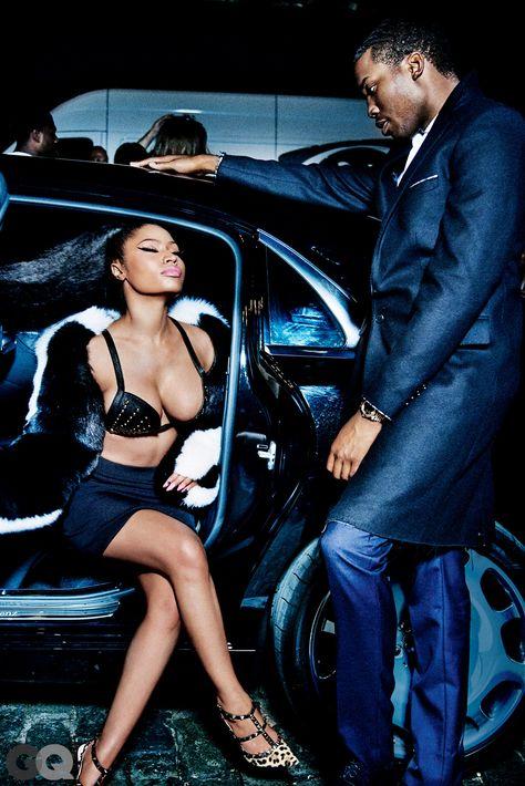 Here's Nicki Minaj and Meek Mill's Sexy GQ Photo Shoot | GQ