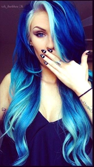 16 Best Crazy Hair Color Ideas To Look Fabulous All Day Fash Hair Styles Hair Color Crazy Dyed Hair