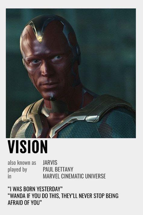 Vision Polaroid Poster