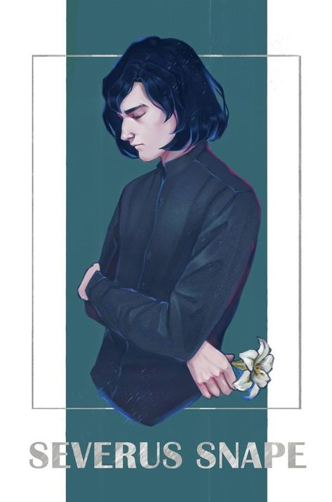 Severus Snape by Maria-Hideki on DeviantArt