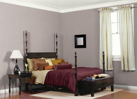 Behr Wall Paint Color, SLATE PEBBLE (780B-4) | Bedroom ...
