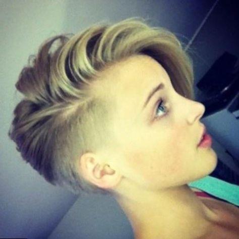 Epingle Sur Undercut Women Hairstyles