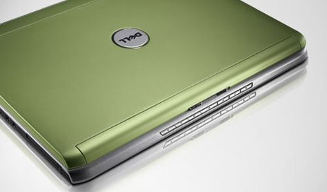 Green Laptop