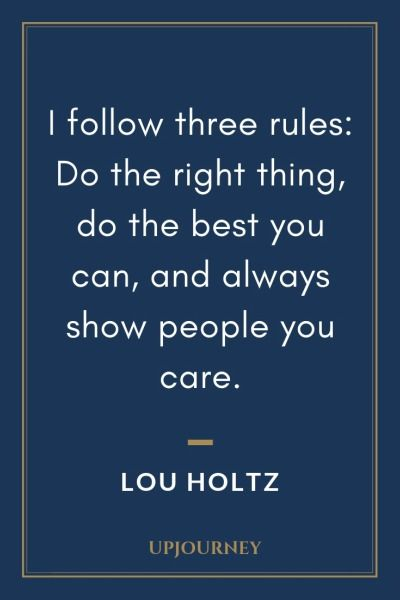 104 Best Lou Holtz Quotes On Life Coaching Teamwork Lou Holtz Quotes Lou Holtz Motivational Quotes For Life