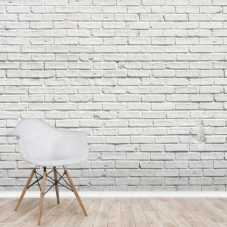 White Brick Effect Wall Wallpaper Wallsauce Us White Brick Wallpaper Brick Wallpaper Uk Brick Effect Wallpaper
