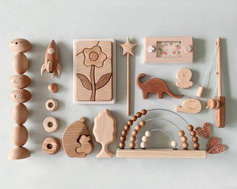 Cheengoo Sustainable Wood Giraffe Teether