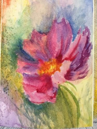 Simple Stunning Watercolor Techniques Painting Class Painting