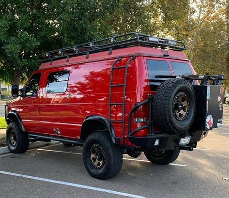 2010 Ford E 350 Quigley 4x4 Van Lifted Custom V10 6 8l 4wd Van 35
