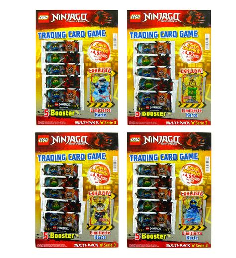 Lego Ninjago Serie 5 Sammelkarten Lego Ninjago Trading Cards Lego