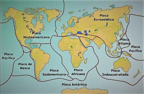 Mapas De Placas Tectonicas Imagenes E Informacion Tectonica De