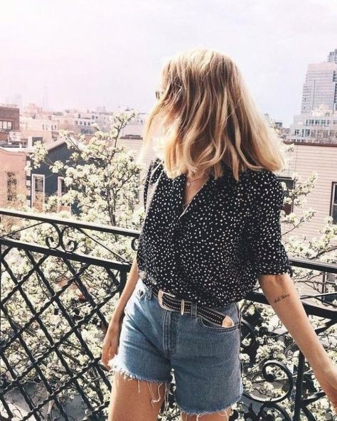 Update your Summer Wardrobe with these Essential Pieces #summer #summeroutfit #denim #streetstyle #outfitideas