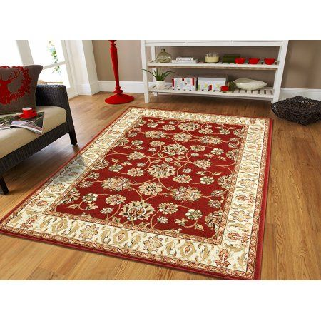 Traditional Area Rugs On Clearance 5x7 Persian Rug For Living Room 5x8 Red Floor Rugs Contempo Traditional Area Rugs Rugs In Living Room Living Room Area Rugs
