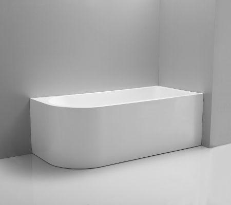 Millennium Kiato Corner Freestanding Bath Right Hand 1500mm With