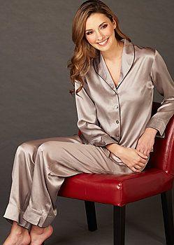 Natalya Silk Pajama and Spa Gift Set - Gift for Her