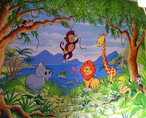 Childrens Murals London | Childrens Murals London/Mural Artist/Nursery Murals/Childrens Wall Murals/Murals/Wall Murals/Disney Wall Murals