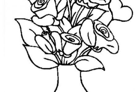 276 Dibujos De Flores Para Colorear Hermosos Disenos Para Darles Color Pintar Acuarela Acuarela Dibujos