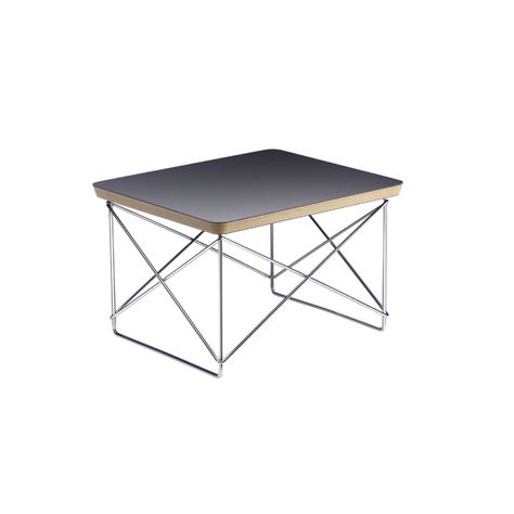 Occasional Table Ltr By Charles Eames Black Vitra Furniture
