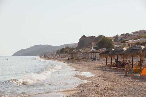Limenariassa koet ihanan sekoituksen kaupunkitunnelmaa ja rantaelämää. #Thassos #Kreikka #Greece #travel #beach #matka #loma #tjäreborg #letsgo #parhaatviikot