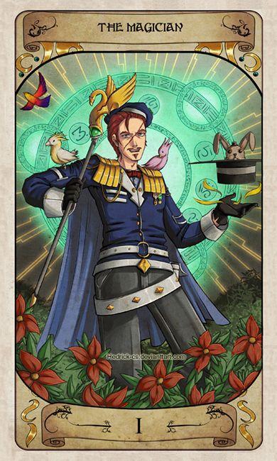 Cerebium Tarot 1 - The Magician by Hedrick-CS