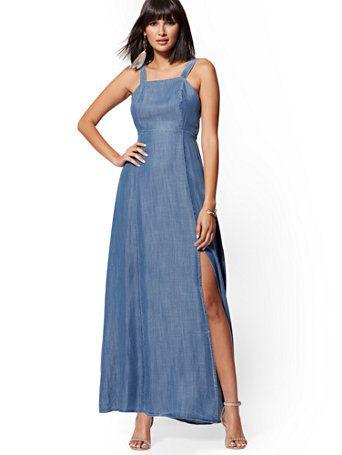 39+ Chambray wrap maxi dress inspirations