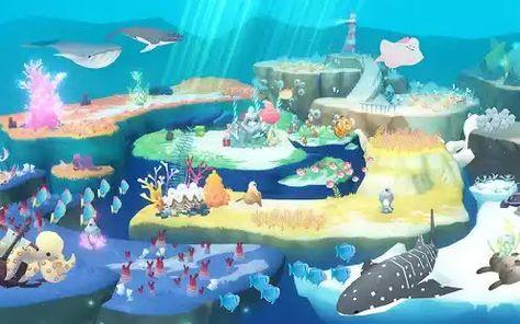Abyssrium World Tap Tap Fish لعبة ممتعة تساعد اللاعبين على الاسترخاء وتجربة الأصوات الرائعة من الطبيعة والاستمتاع بعالم جميل Birthday Fish World