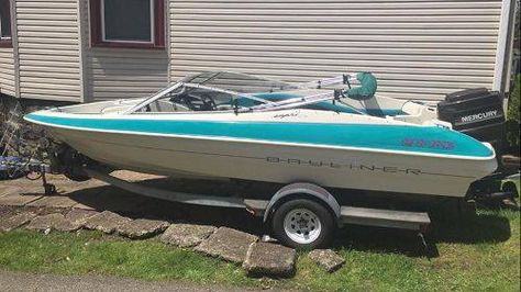 Best Boats Images On Pinterest Boats Vintage Boats And Boating - Blue fin boat decalsblue fin sportsman need some advice pageiboats