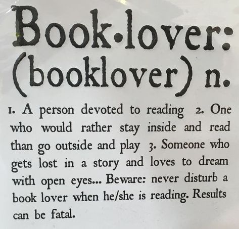 25 Hilarious Memes Just for Big Readers and Book Lovers   funy book lover defined
