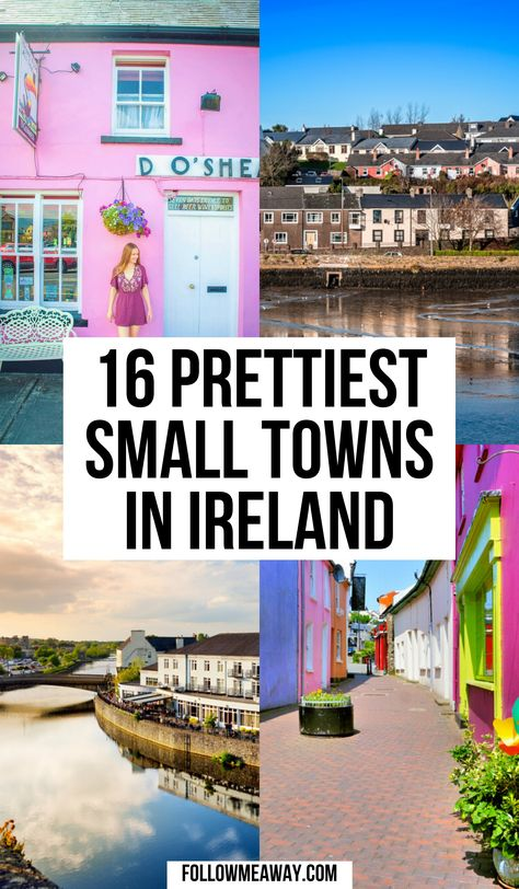 Ireland Map, Ireland Travel Guide, Traveling To Ireland, Oh The Places You'll Go, Places To Travel, Travel Destinations, Europe Travel Tips, Oregon, Small Towns