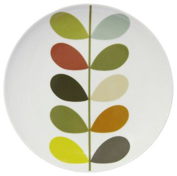 Stem Square Side Plate Multi Plates Squares And Dining  sc 1 st  theflowzone.net & Orla Kiely Plate - Home Decorating Ideas u0026 Interior Design