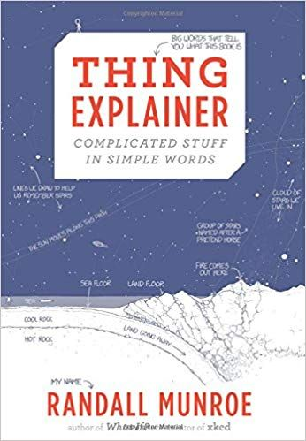 Thing Explainer Complicated Stuff In Simple Words Randall Munroe 9780544668256 Amazon Com Books Words Randall Munroe Good Books