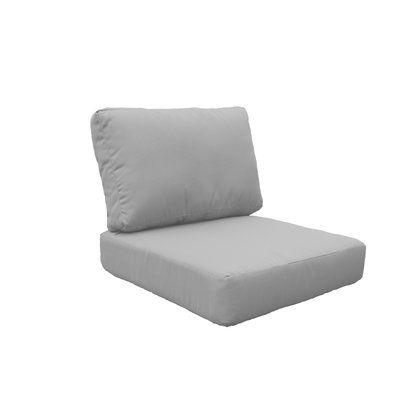 Tk Classics Miami 8 Piece Outdoor Lounge Chair Cushion Set