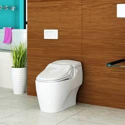 Washlet S500e Modern Elongated Toilet Seat Bidet Tankless Toilet Washlet Bidet Toilet Seat